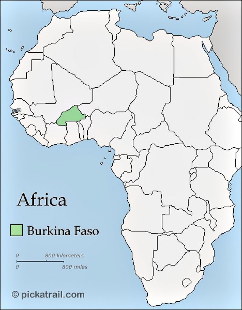 Burkina Faso The Heart Of West Africa Backpacker Travel - Burkina faso map