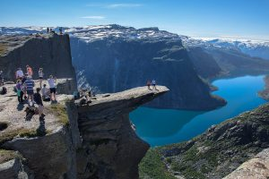 View from Trolltunga Norway