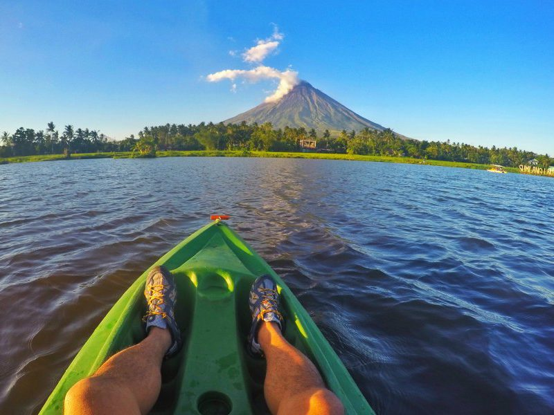 Mayon volcano in the Philippines is tagged as the perfect cone due to the perfection of the shape of the volcano.