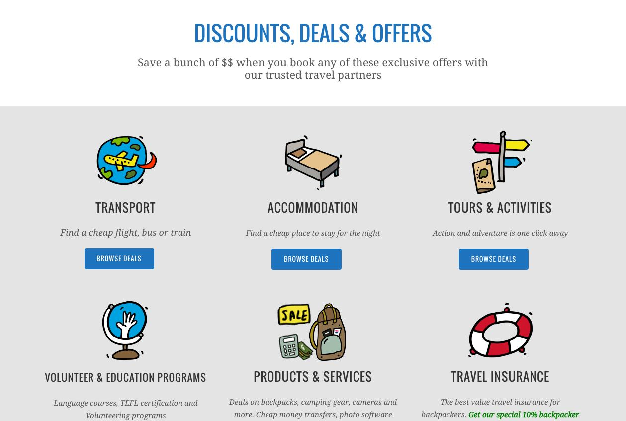 travel offers