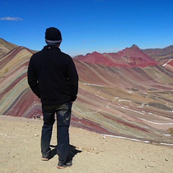 rainbow mountain in peru