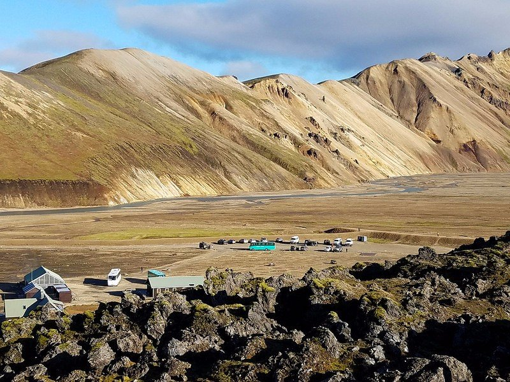 Colored hills of Landmannalaugar