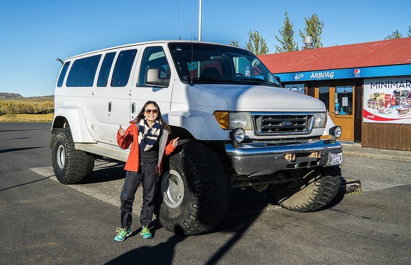 Super jeep in Iceland