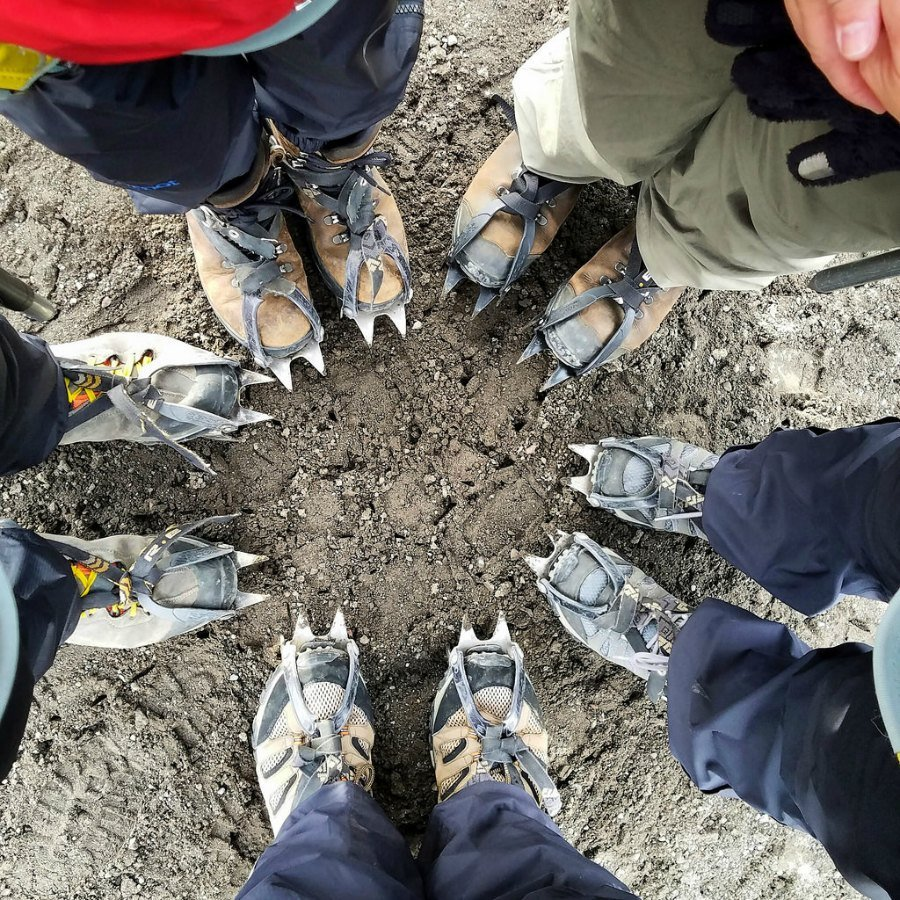 Our crampons