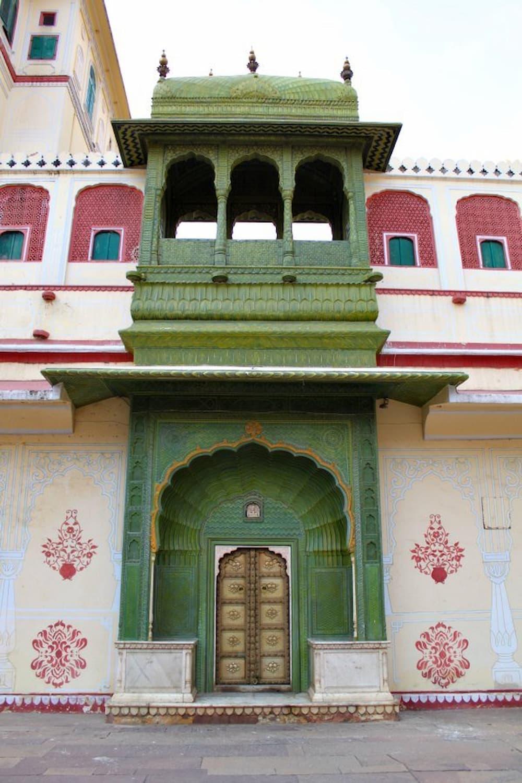 Intricately carved entrances