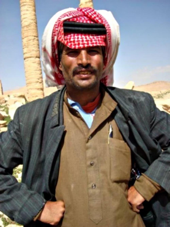Bedouin man in Syria
