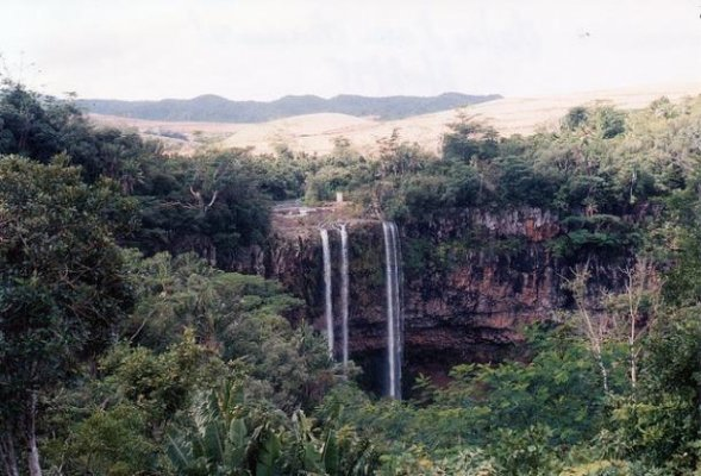 Waterfall at Grand Bassin