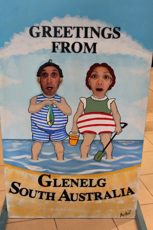 Mike and Lisette at Glenelg