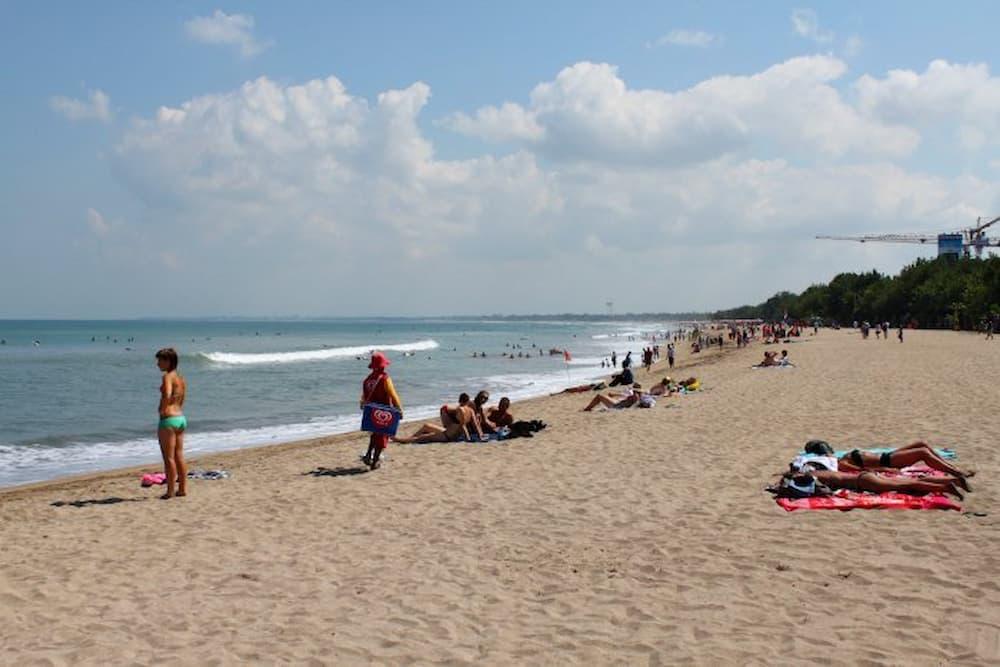 Kuta Beach on a quiet day
