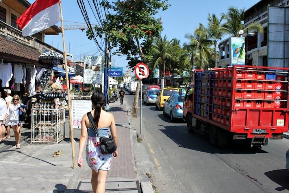 Walking the streets of Kuta