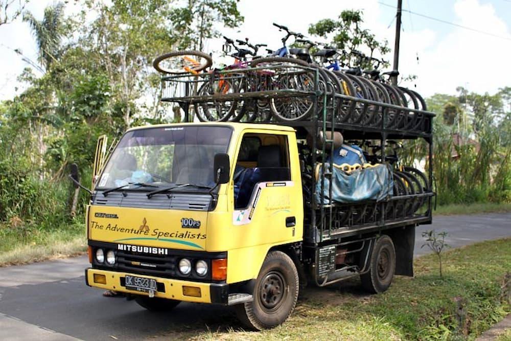 Truck of bikes