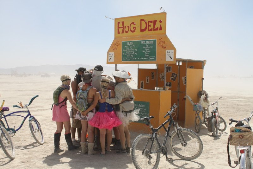 Get your hug on at the Hug Deli