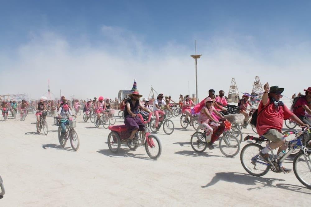 Pink Heart bike ride