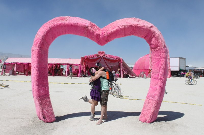 The Pink Heart Camp