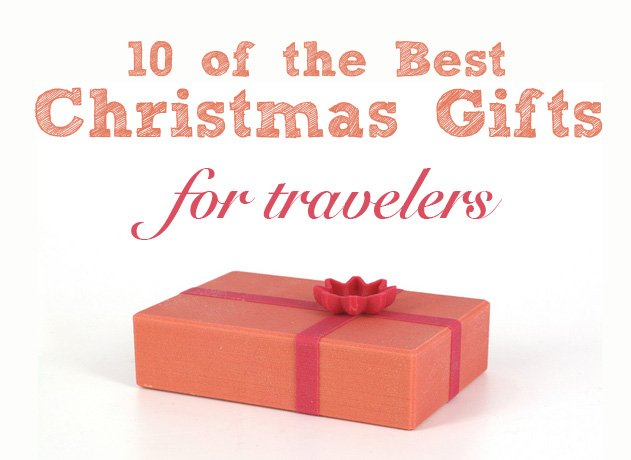 10 of the best Christmas gifts for travelers