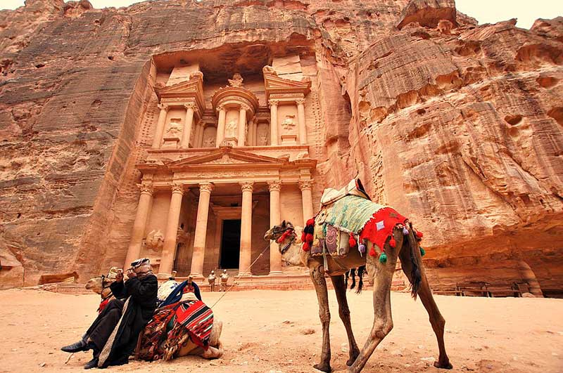 Petra the pink city