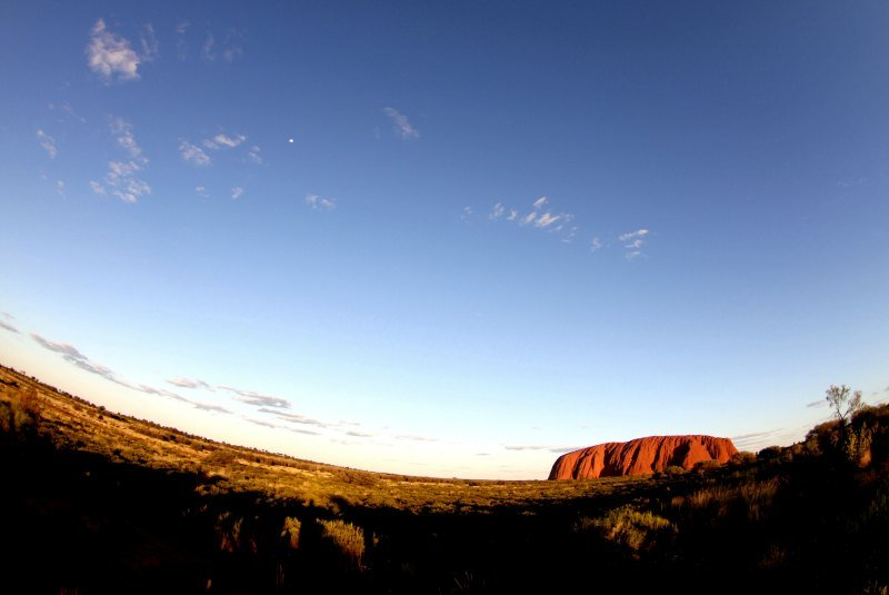 A New Perspective of Uluru