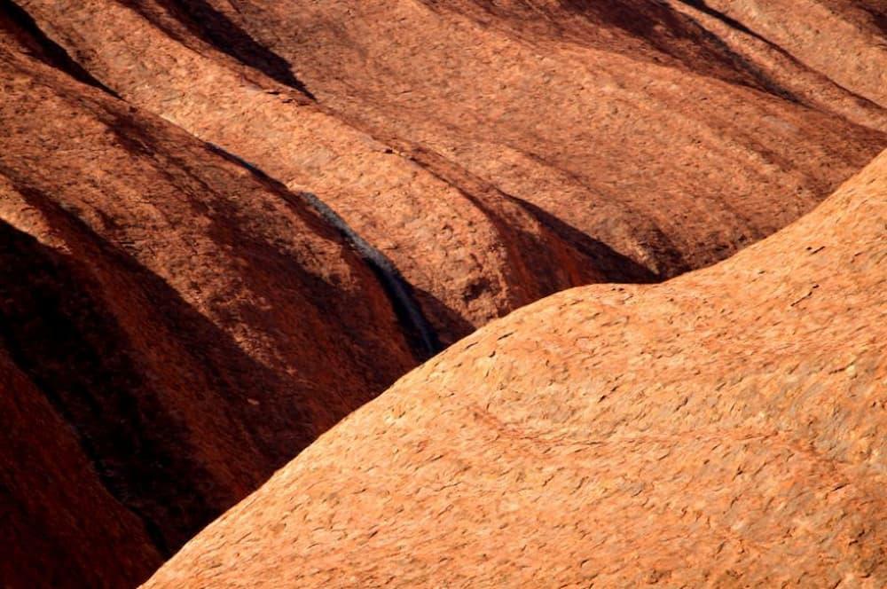 Folds of Uluru
