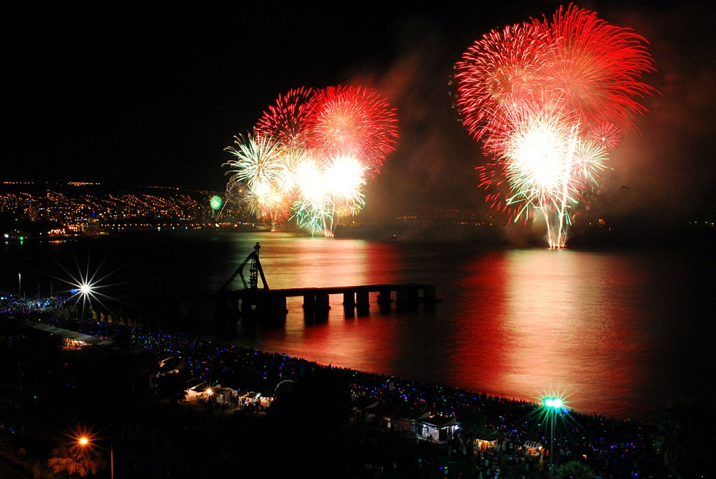 New Years in Valparaiso