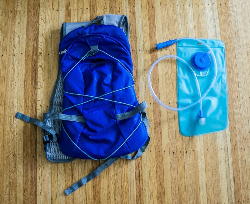 crave hydration pack
