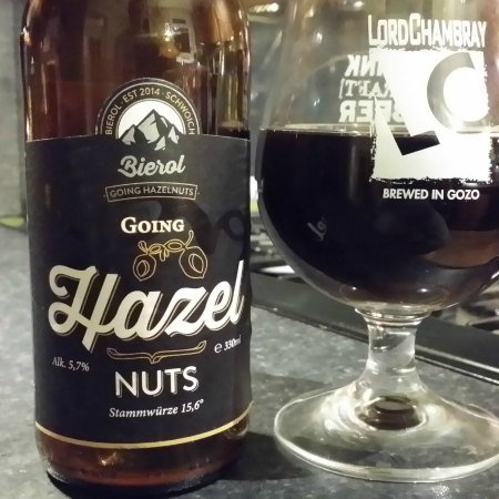 going hazel nuts beer