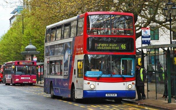 46 Bus in Birmingham