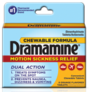 Dramamine chewable package