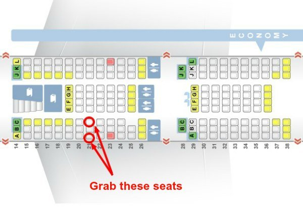 Grab these seats
