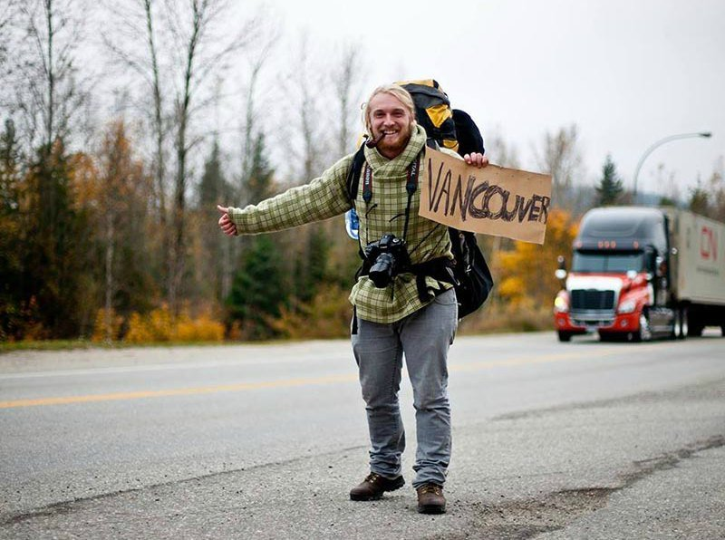 Hitchhiking through Canada