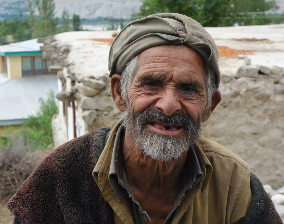 Local man in Shigar Valley