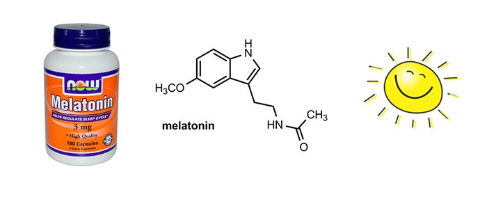 Melatonin for jetlag
