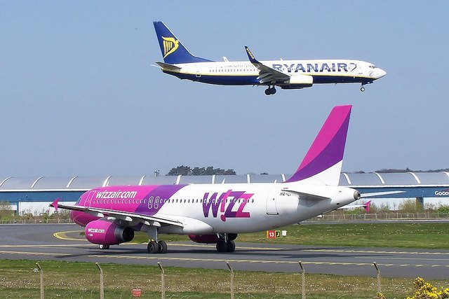 Ryanair and Wizz