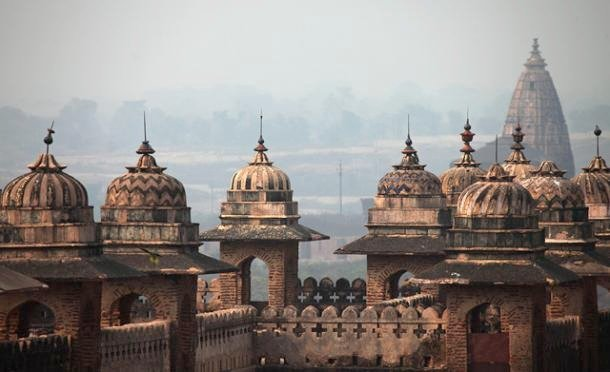 Skyline of Orchha India