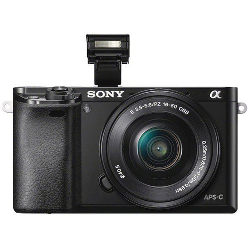 Sony Alpha A6000 Mirrorless Digital Camera Front