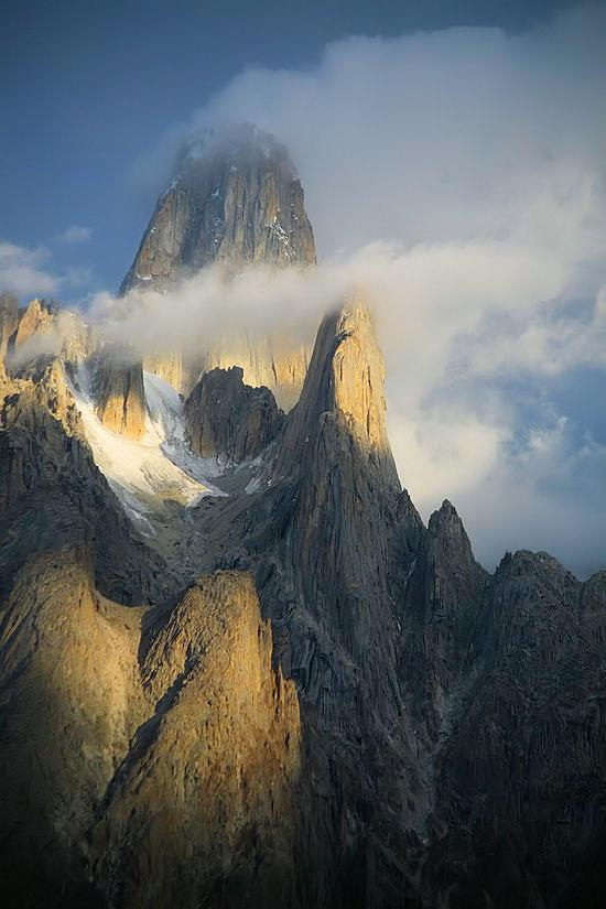 The High cliffs in Pakistan