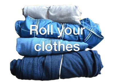 roll clothes