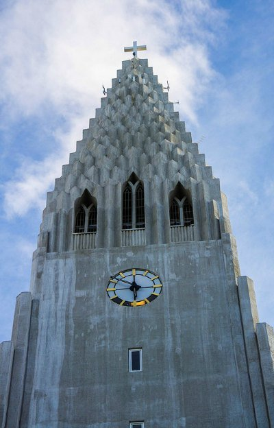 Top of Hallgrimskirkja