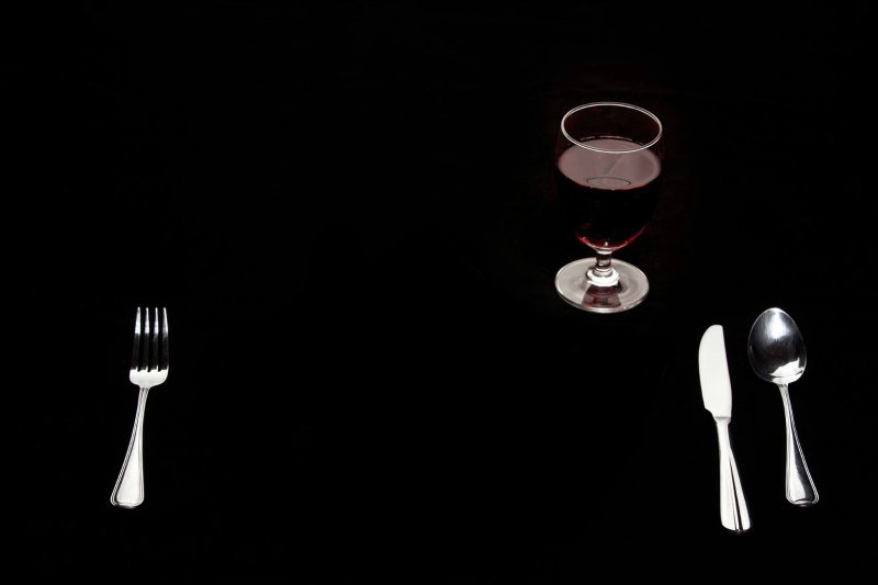 Dine in the dark