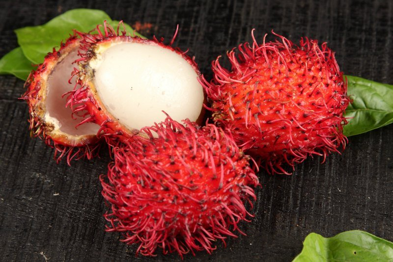 Intimacy on the plate aphrodisiac lychee