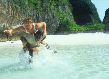Leonardo Dicaprio in 'The Beach'