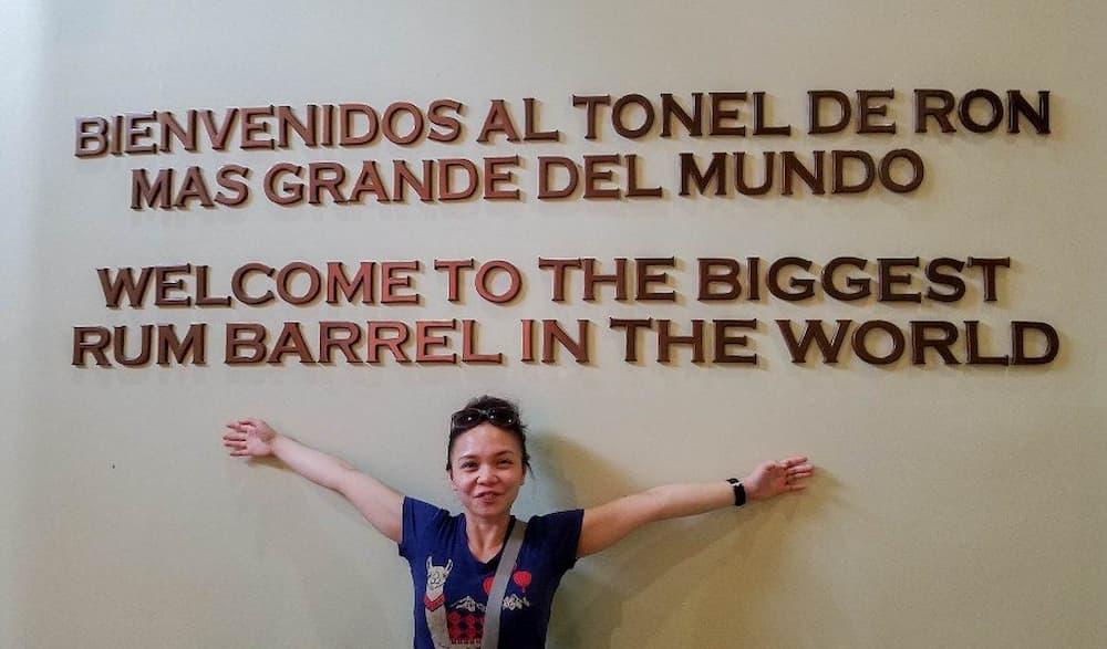Biggest rum barrel in the world