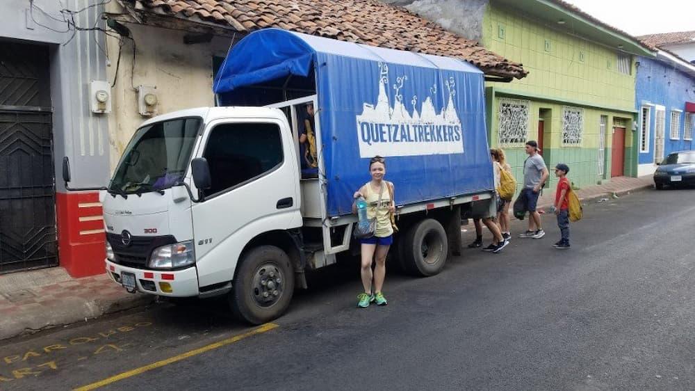Quetzaltrekkers Truck