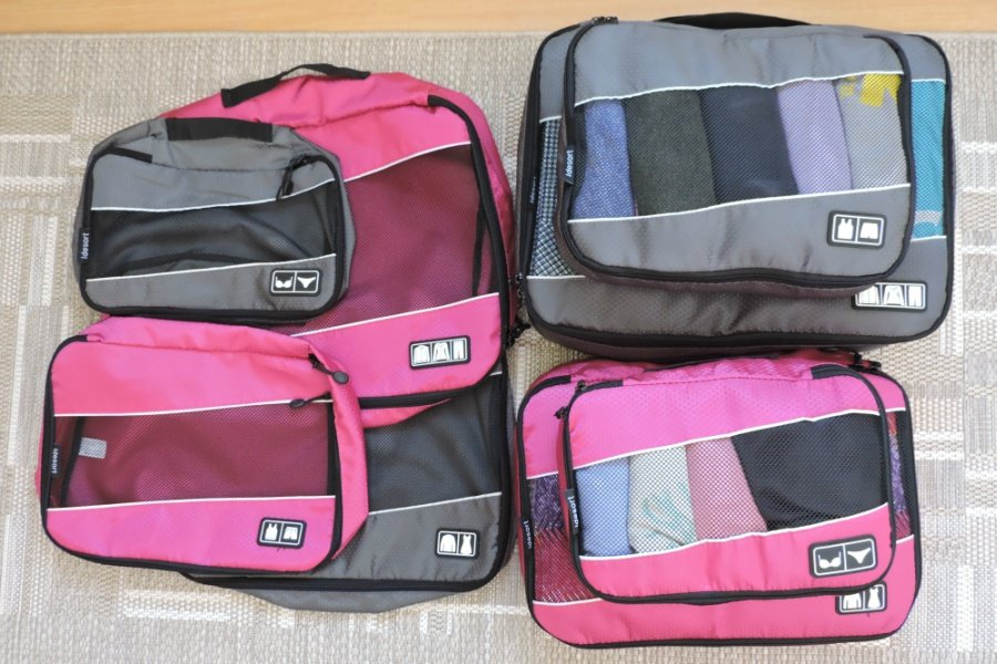 Idesor Packing cubes 8 set