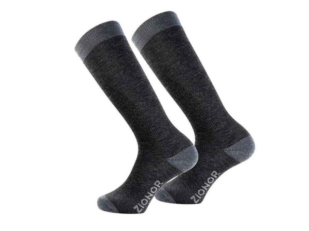 Zionor Ski Snow Socks High Knee Merino Wool