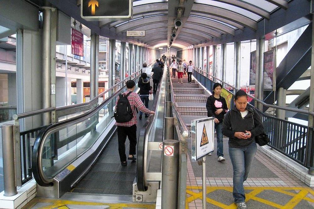 Hong Kong Escalator