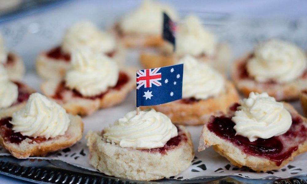 Aussie scones